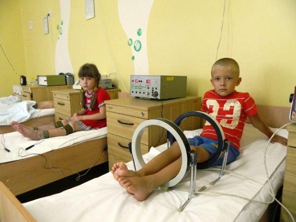 Физиотерапевтический кабинет в детской поликлинике