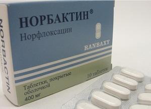 как применять таблетки Норбактин