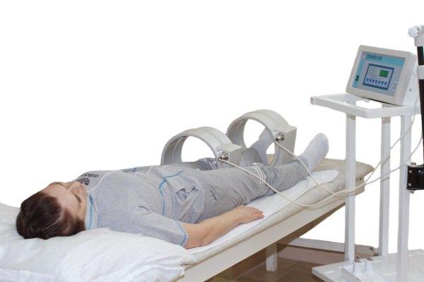Магнитотерапия коленного и голеностопного сустава