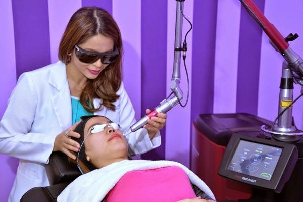 Лазер широко применяется в косметологии