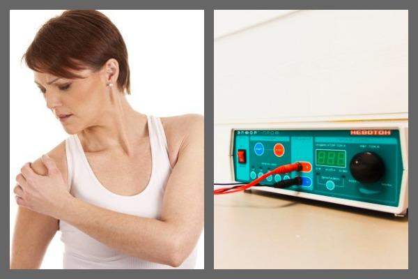 Для лечения остеоартроза плечевого сустава широко применяется электрофорез