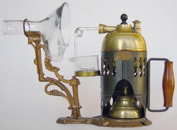 Паровой ингалятор 1875 года