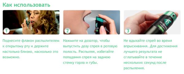 Спрей Никоретте от курения: инструкция, где купить и сколько стоит в аптеках?