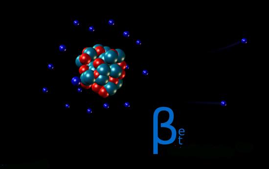 распад ядер атомов радиоактивных элементов