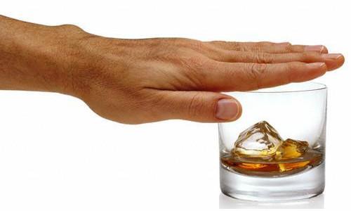 Больные должны полностью отказаться от алкоголя