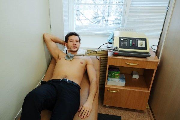 Дециметровая терапия на аппарате Ранет
