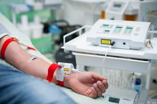 Процедура внутривенной лазерной терапии
