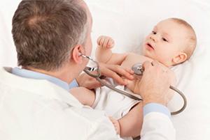 ребёнок на приёме у врача
