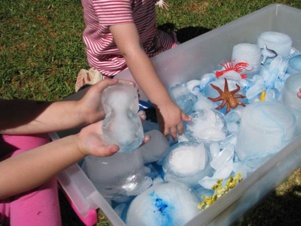 Сенсорная коробка со льдом