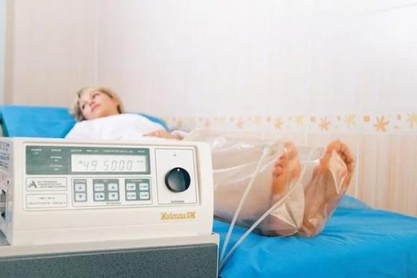 Озонотерапия с помощью специальных колпаков