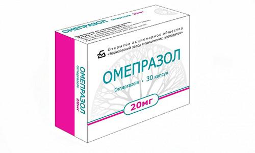 Омепразол способствует заживлению язв и эрозий, расположенных на стенках желудка