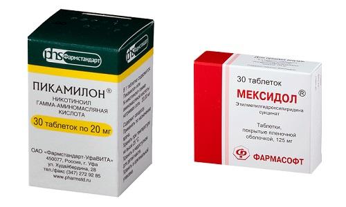 Пикамилон и Мексидол - ноотропные средства, обладающие разносторонним спектром воздействия на организм человека