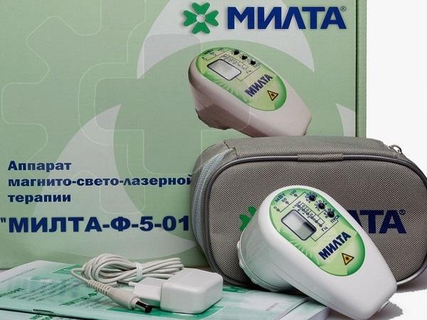 Аппарат магнито-свето-лазерной терапии Милта