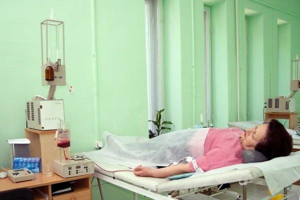Аутогемотерапия с озоном