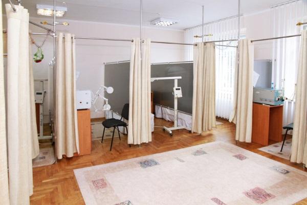 Оснащение физиотерапевтического кабинета