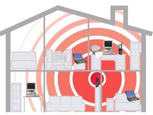 wifi в доме у человека