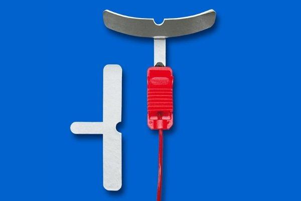 Десневой электрод для проведения электрофореза в полости рта