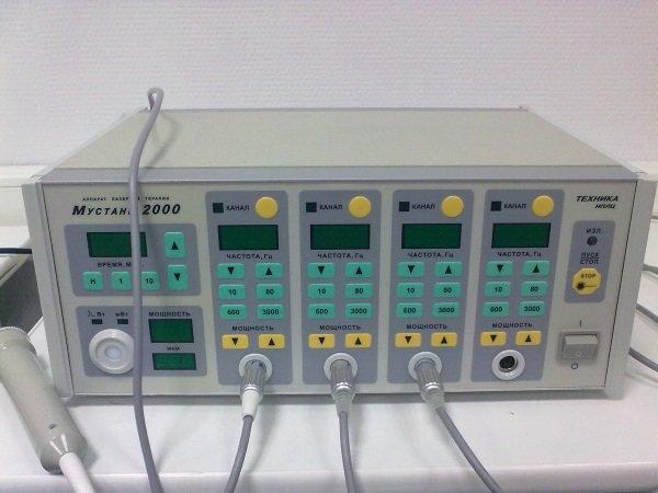 Лазерный терапевтический аппарат Мустанг-2000