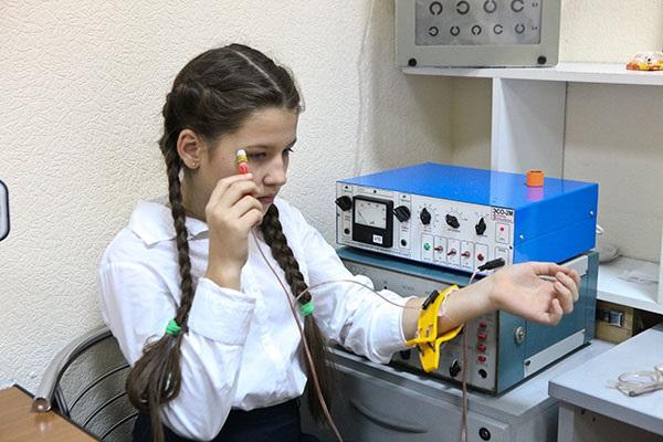 Чрескожная электростимуляция зрительной системы