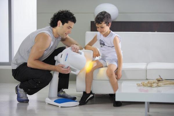 Прибор Биоптрон можно применять и у детей