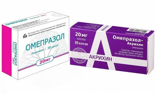 Омепразол и Омепразол-Акрихин снижают кислотность желудочного сока