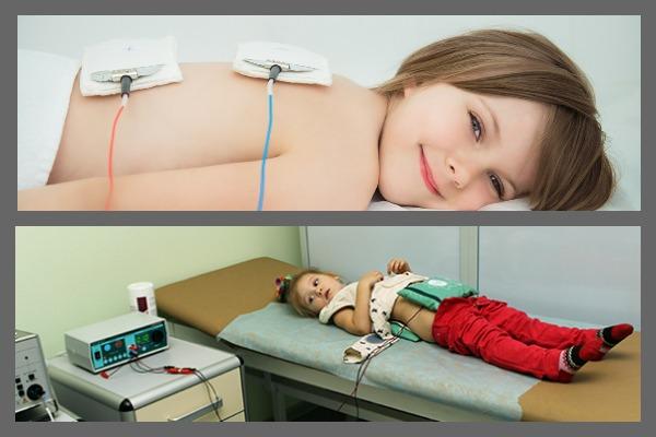 Проведение электрофореза детям