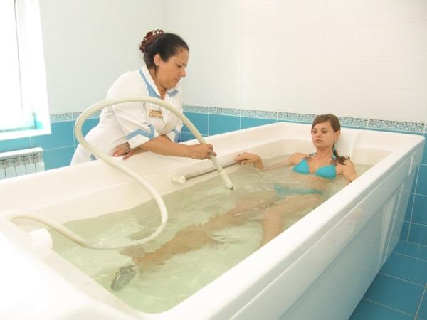 Принятие скипидарной ванны