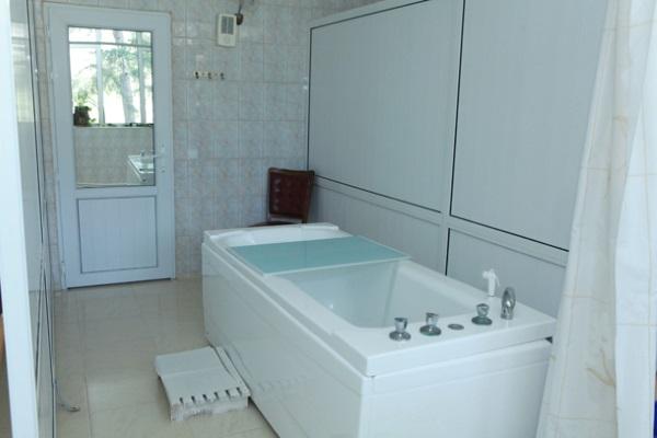 Помещение для принятия радоновых ванн