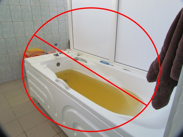 К применению рапных ванн существуют противопоказания