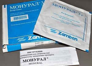 правила применения препарата Монурал