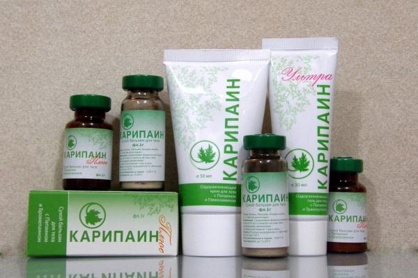 Карипаин продается в разных формах выпуска