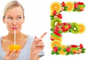 где содержится витамин E