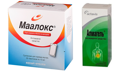 Альмагель и Маалокс - медикаменты для облегчения симптомов при заболеваниях ЖКТ