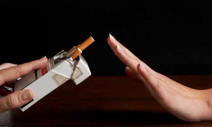 За сутки до биохимического исследования нельзя курить