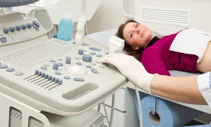 Для точной формулировки диагноза УЗИ даст заключение об изменениях тканей железы и соседних органов