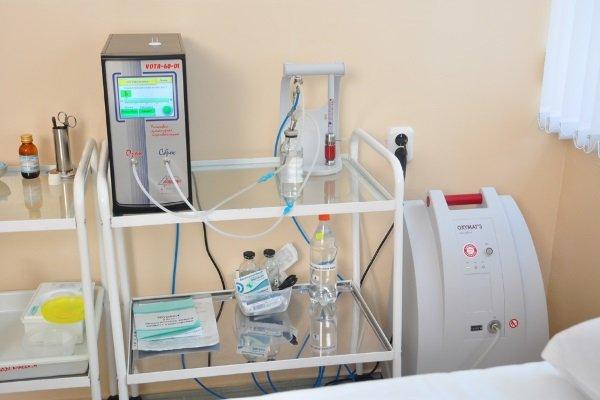 Аппаратура для проведения озонотерапии