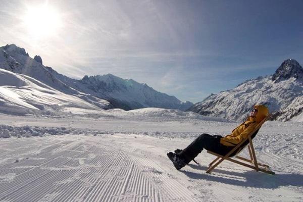 Аэротерапия проводится не только летом, но и зимой