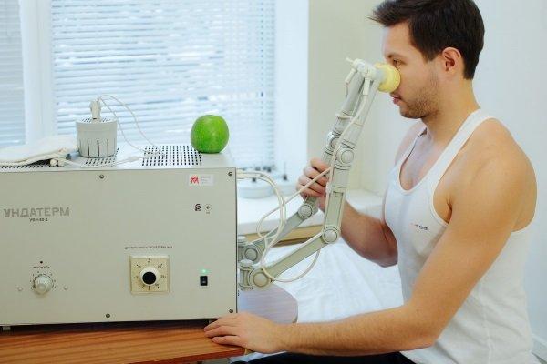 УВЧ на аппарате Ундатерм
