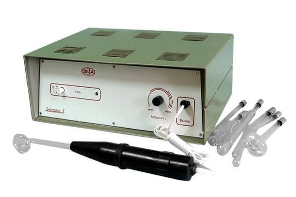 Аппарат Искра-1 с комплектом из 8 электродов