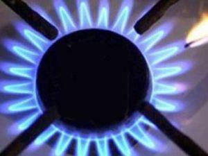 горящая газовая комфорка