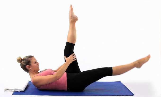 «Ножницы» упражнение подходит и для верхних, и для нижних конечностей