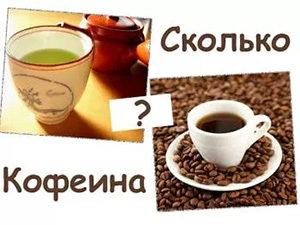 чай, кофе и знак вопроса