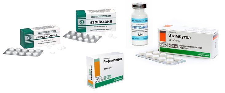 Средства от туберкулеза