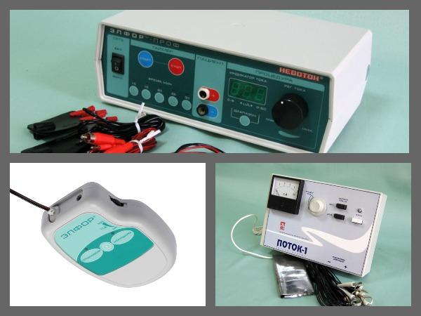 Аппараты для гальванизации и электрофореза
