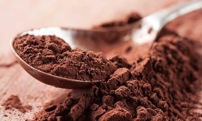 Полностью исключается какао