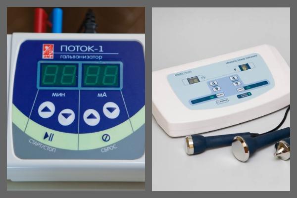 Аппараты для электрофореза и ультрафонофореза