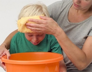 симптомы отравления у ребёнка