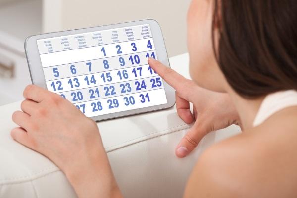 Физиопроцедуры назначают в определенные дни менструального цикла