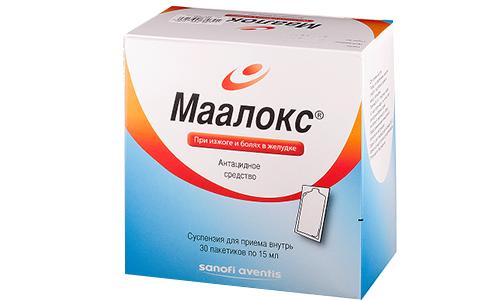 Маалокс не способен вызывать запоры, потому что не оказывает влияния на двигательную функцию кишечника