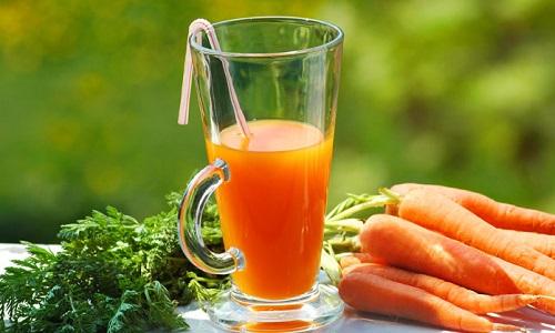 Морковный сок полезен при реактивном панкреатите